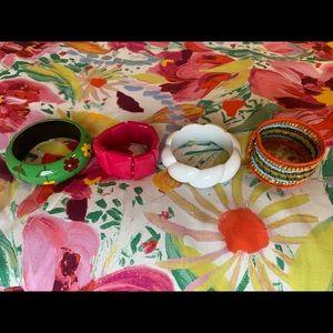 Four fun bracelets